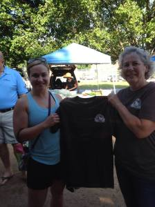 I was presented with this T-Shirt in thanks for my support of the Farmer's Market.